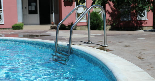 Swimming Pool Ladder Live Action