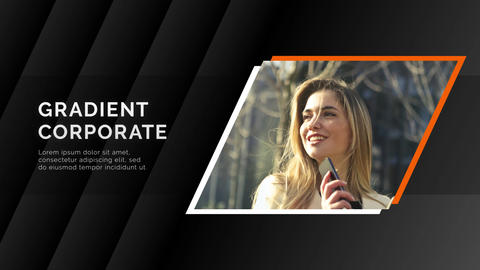 Gradient promo - corporate After Effects Template