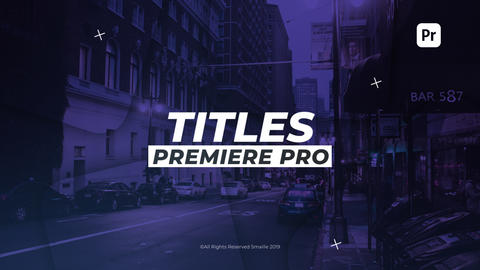 Dynamic Titles Premiere Pro Template