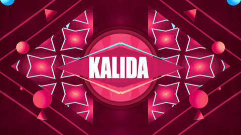 Kalida Title & Logo Reveal After Effects Template