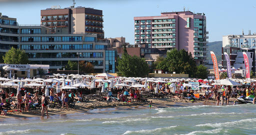 Sunny Beach Black Sea Coast Live Action