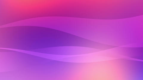 Soft Wavy Gradient Background Videos animados