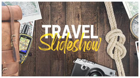 Photo Gallery - Travel Slideshow After Effects Template
