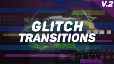 Glitch Transitions Presets V.2 Premiere Pro Effect Preset
