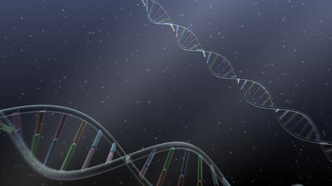 DNA Strand Genome image 4 A56b 4k Animation