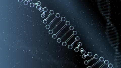 DNA Strand Genome image 4 B2b 4k Animation