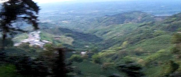 Andean rural landscape brief tour Footage