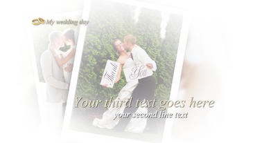 My Wedding album After Effects Project