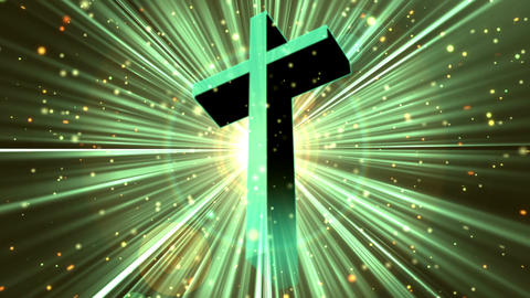 Divine Worship Cross 4 Loopable Background Animation