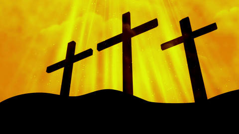 Worship Cross 6 Loopable Background Animation