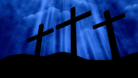 Worship Cross 7 Loopable Background Animation