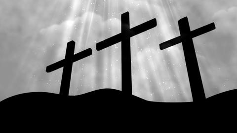 Worship Cross 9 Loopable Background Animation