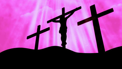 Worship Cross 15 Loopable Background Animation