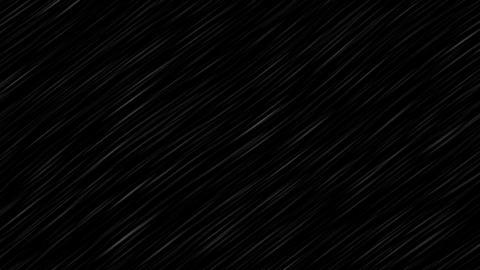 Rain Storm CG動画素材