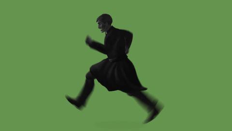 Priest running Animation