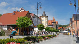 Swieradow Zdroj - spa town in Poland Live Action