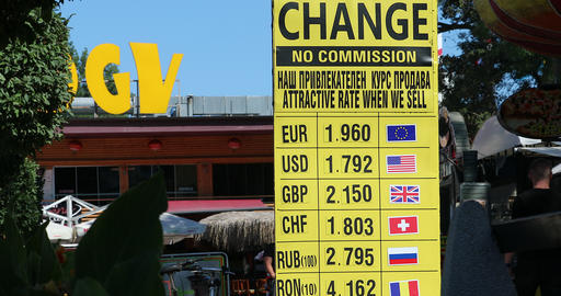 Foreign Currency Exchange Rates GIF