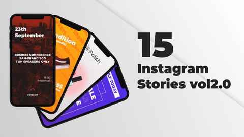 Instagram Stories Collection vol 02 After Effects Template
