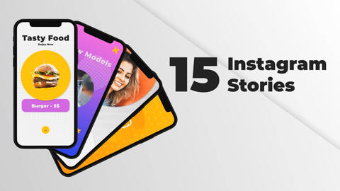 Instagram Stories Collection vol 01 After Effects Template
