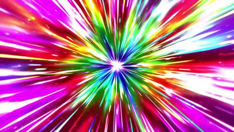 Effect background rainbow Animation