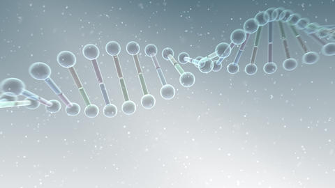 DNA Strand Genome image 4 B5a 4k Animation