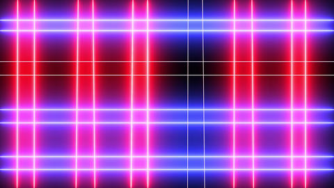 Abstract creative neon bars, lines is shining. LOOP animation background Animation