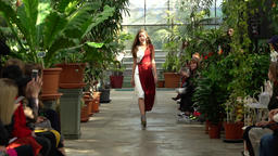 Fashion show. Model on the catwalk. Woman. Girl. Female. Models Archivo
