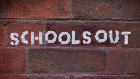 Schools Out Graffiti Animation