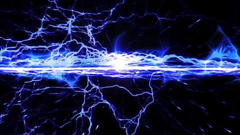 Lightning effect blue animation Animation