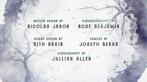 Cine Credit V 4 After Effects Template