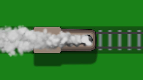 Train shape animation Animation
