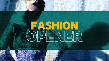 Fashion Opener After Effectsテンプレート