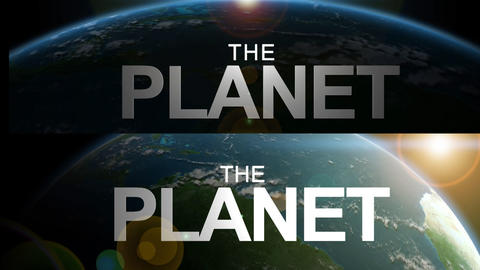 AE THE PLANET After Effects Template