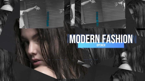 Clean Fashion Looks After Effects Template