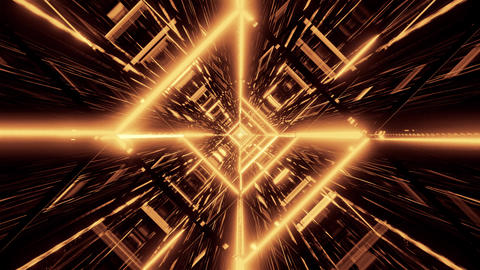 stylish gold golden wireframe design with nice reflections background 3d Animation