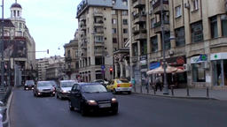Bucharest City Traffic Footage