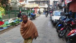 Kathmandu Nepal before the earthquake 2009 Footage
