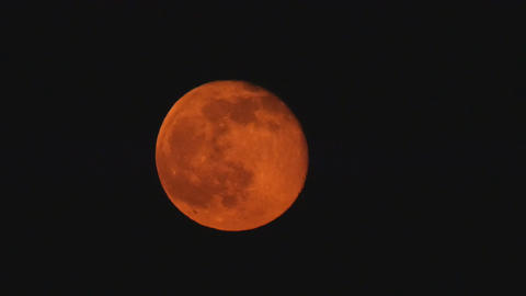Red moon Footage