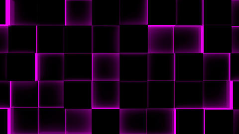 Illuminated Cubes Background-Seamless Loop Animation