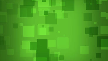 Matrix style boxes falling loop able animation on green background After Effects Projekt