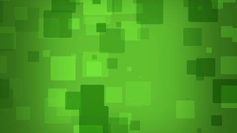 Matrix style boxes falling loop able animation on green background After Effects Template