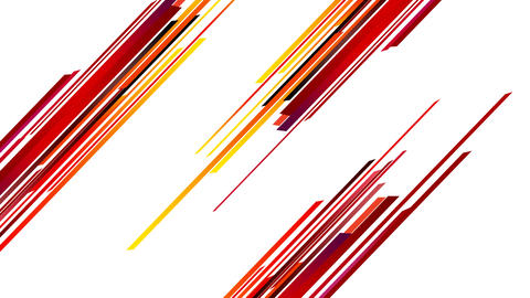 Abstract colorful straight stripes animation for revealing,titling ,intro or ope After Effectsテンプレート
