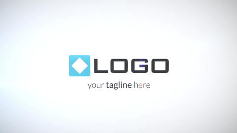 Simple Fast Clean Business Corporate Logo Reveal Light 3D Spin Animation Intro After Effects Template
