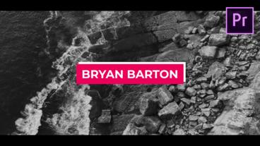 Lower Thirds Motion Graphics Template