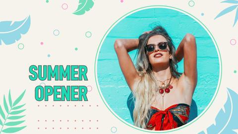 Summer Opener Premiere Pro Template