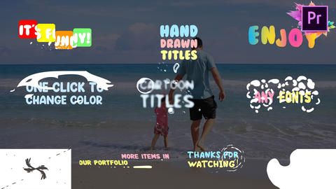 Fun Titles Motion Graphics Template