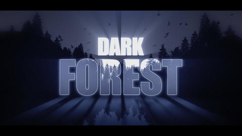 Dark Forest After Effects Template