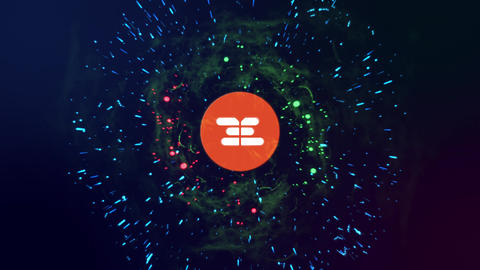 Particle Burst After Effects Template