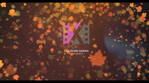 Autumn Logo Reveal After Effects Template