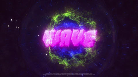 Shockwave Logo After Effectsテンプレート